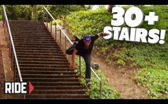 30+ STAIRS! Skateboarding Slam – David Loy | Wild Boys TV