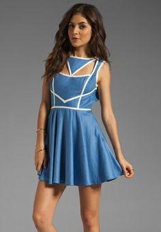 Mona loves a great dress!