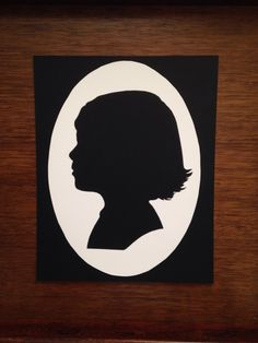 Hand+Cut+Silhouette+Portraits+by+TimelessSilhouettes+on+Etsy,+$20.00