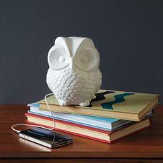 owl ipod speaker for nursery
