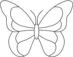 Resultado de imagen para okul öncesi kelebek boyama
