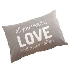 Putetrekk «All you need is love» 2 stk