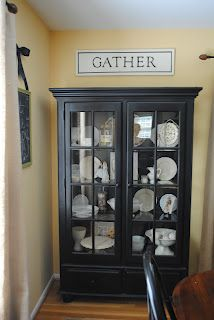 Naptime Decorator: Homemade Chalk Paint and a China Cabinet Transformation