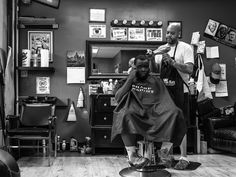 Step inside Philly's Black barbershops with photographer Theresa Stigale and take a seat.