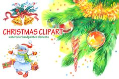 Elf Clipart, Merry Christmas, Christmas Clipart, Clip Art, Hand Painted, Watercolor, Fictional Characters, Merry Little Christmas, Pen And Wash