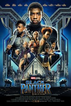 Black Panther It's not even out yet, and im already a huge fan