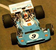 1972 GP Francji (Chris Amon) Matra MS120D