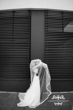 lace and tulle dress spanish veil
