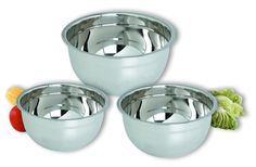 Chef Direct Stainless Steel Euro Mixing Bowls 3 Quart//Chef Direct //Cuenco En Acero Inoxidable ... (This is an affiliate link) #mixingbowls