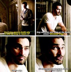 Derek with his big bro advice
