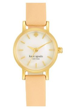 tiny metro watch / kate spade