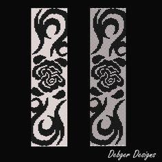Rose Tattoo modello di bracciale bracciale di FUNPATTERNDESIGNS