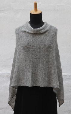 Let Poncho Ito variant - Kvinder - Charlotte Tøndering - Designere
