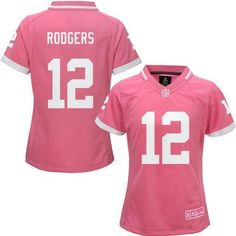 Packers Girl s  12 Rodgers Bubble Gum Pink Jersey Nfl Jerseys For Sale e0a69d63c