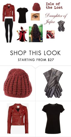 """""""Daughter of Jafar : Isle of the lost"""" by daughter-of-poseidon00220 ❤ liked on Polyvore featuring Cappellificio RP, Maison Fabre, IRO, Vince and J Brand"""