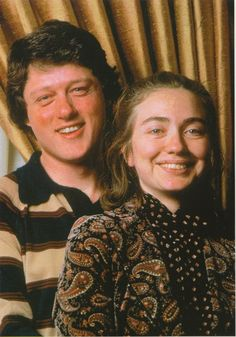 Bill and Hillary — the early years…
