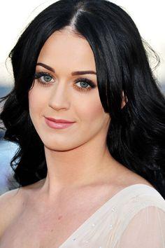 Celebrities With Black Hair