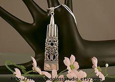 Silver Spoon Pendant CORONATION Jewelry by theartandglassstudio, $15.99