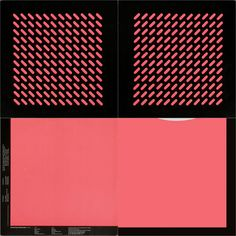 "Orchestral Manoeuvres in the Dark, OMD (Outer and Inner Sleeves) 1980 via Peter Saville Sleeve Design "" Peter Saville, Music Artwork, Album Design, Postmodernism, Sleeve Designs, Geometric Shapes, Cover Design, Album Covers, Vinyls"