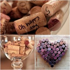 If you're into your wine consider having guests sign corks which can be displayed on a board arranged by the colour left on the cork bottom by the wine - so pretty!