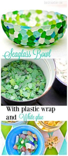 DIY: Sea Glass Bowl