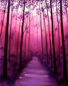 Walk In The Forest II at Hilton Garden Inn Knoxville West/Cedar Bluff - Paint Nite Events near Knoxville, TN