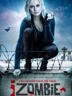 The CW has released the first key art / poster for the upcoming season of iZombie. iZombie returns for season 4 on February on the CW. Rose Mciver, Rob Thomas, The Comedian, Tv Series Online, Tv Shows Online, Movies Online, Best American Tv Series, American Gods, 22 Jump Street