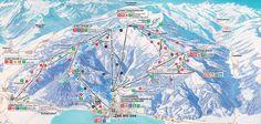 Pisteplan Skigebied Schmitten - Zell am See SSS-card Thumersbach 2015 2 weken