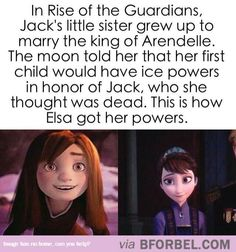 To all those who are shipping Jelsa, he's her uncle i never really believed the elsa theory anyways