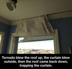 I must say this is pretty cool even thought I'm scared to death of a tornado