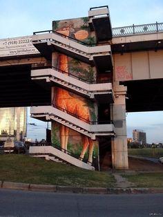 Граффити в Краснодаре Outdoor Sculpture, Outdoor Art, Street Art Graffiti, Old Master, Urban Art, Impressionist, Big Ben, Russia, Art Photography