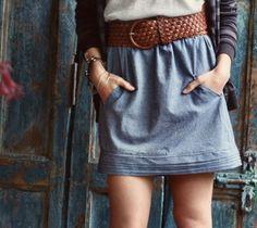 Gotta love a skirt with pockets