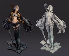 """Unreal EngineさんはTwitterを使っています: """"Girl with robo arms by Saimon Ma https://t.co/XFynIuFhvQ #UE4 https://t.co/O2iiKz6bw6"""""""
