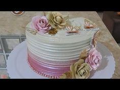 Cake Decorating Techniques, Cake Decorating Tips, 21st Birthday Cakes, Beautiful Birthday Cakes, Chocolate, Baking, Desserts, Food, Youtube