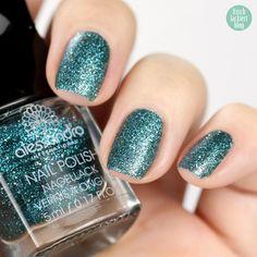 Alessandro green caviar – 203 – glitter stars