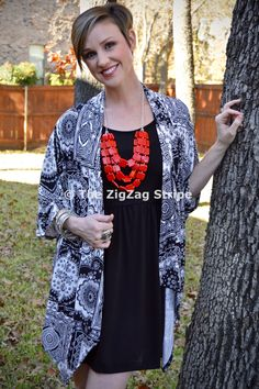 Sammie Kimono Cardigan – The ZigZag Stripe. Use coupon code ZZS72 to save 10% on every order, and shipping is free! zigzagstripe.com