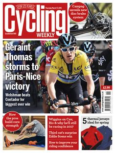 How to take care of your hip health for cycling - Cycling Weekly Geraint Thomas, Cycling Weekly, Paris Nice, Cycling News, Weekly Specials, Uk News, Take Care Of Yourself, Reading Lists, March