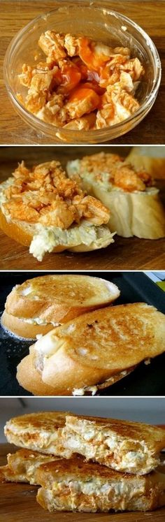 Buffalo Chicken Grilled Blue Cheese