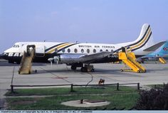 Photo British Air Ferries (BAF) Vickers Viscount 806 G-APEX