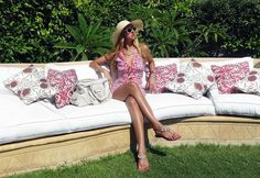 https://flic.kr/p/fDMctN | Le Petit Jardin | I'm very fond of Hayden Harnett's handbag designs and one of my favourites is their Trophy Satchel. It's rare to find a handbag so pretty and yet so spacious. Since I've been sunbathing I decided to sparkle my tan by wearing a Pearl necklace by the talented designer Oksana Belo. Last but not least a colorful striking dress like no other, my Hale Bob dress.  Trophy Satchel Bag: Hayden Harnett  Necklace: Oksana Belo Sandals: Mystique  Dress: Hale…
