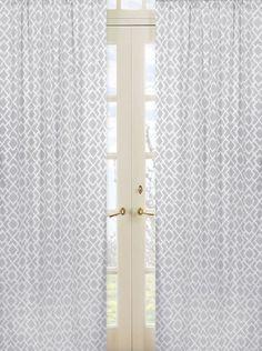 Gray and White Diamond Window Treatment Panels by Sweet Jojo Designs - Set of 2 by Sweet Jojo Designs, http://www.amazon.com/dp/B007TA5RAC/ref=cm_sw_r_pi_dp_Sidrrb1EP8PW8