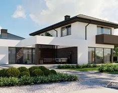grafitowa elewacja – Szukaj wGoogle Home Fashion, Mansions, Dom, House Styles, Google, Home Decor, House, Mansion Houses, Homemade Home Decor