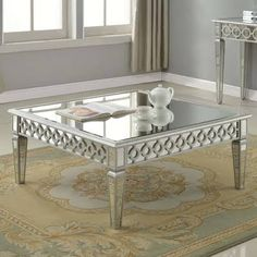 Silver Mirror Coffee Table   Google Search