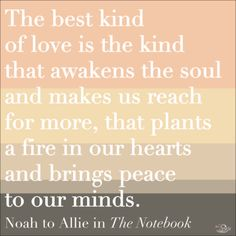 The Notebook quotes never fail to make our heart melt!
