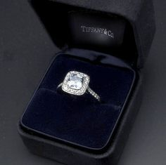 Tiffany Legacy ring. Two of my aunts have this. My dream engagement ring!