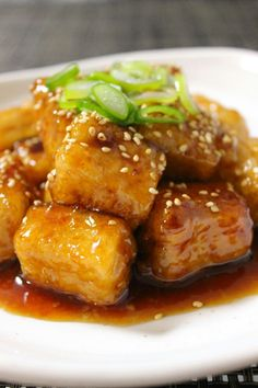 Cooking Dishes, Vegan Dishes, Cooking Recipes, Asian Recipes, Healthy Recipes, Ethnic Recipes, Japanese Side Dish, Japanese Food, Meat Substitutes