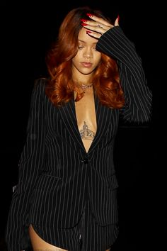 "Rihanna at ""Hooray Henry's"" nightclub in Los Angeles.  (19th June 2015)"