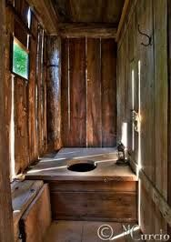 Image result for long drop toilet