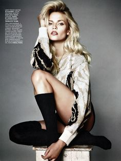 Socks and sweater dress. #fashion #editorial #zappos