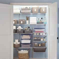 31 Perfect Laundry Room Storage Ideas for Small Rooms With the correct design, you are able to even apply your laundry room for some other tasks like at-home office work or crafts. The laundry room is just one of others… Continue Reading → Laundry Room Baskets, Modern Laundry Rooms, Laundry Room Shelves, Shelves In Bedroom, Laundry Storage, Laundry Room Organization, Wall Storage, Closet Storage, Storage Ideas